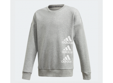 SUDADERA ADIDAS MUST HAVES GRIS KIDS